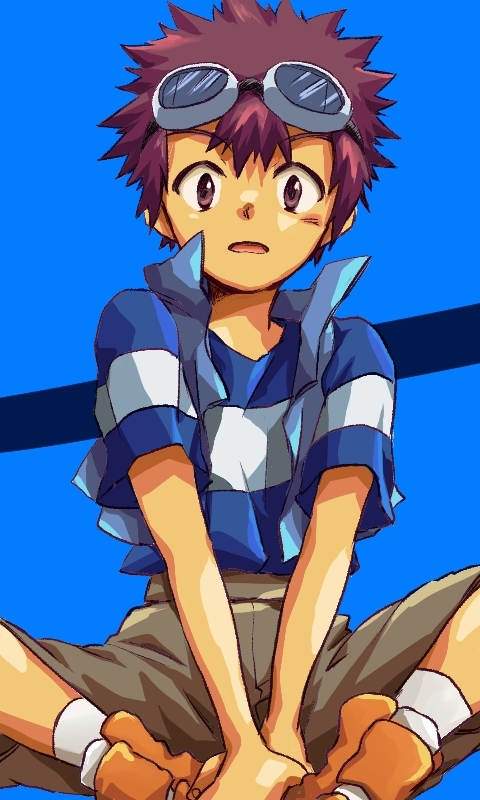 Mega Man Iphone Wallpaper Motomiya Daisuke Digimon Adventure Zerochan Anime