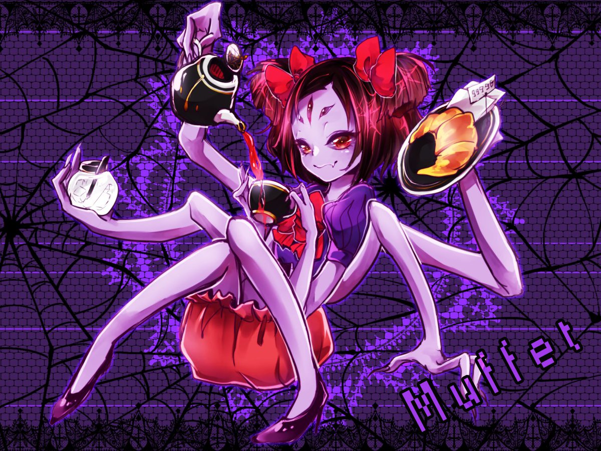 Cute Anime Girl Wallpaper Hd For Android Muffet Undertale Wallpaper 2144612 Zerochan Anime