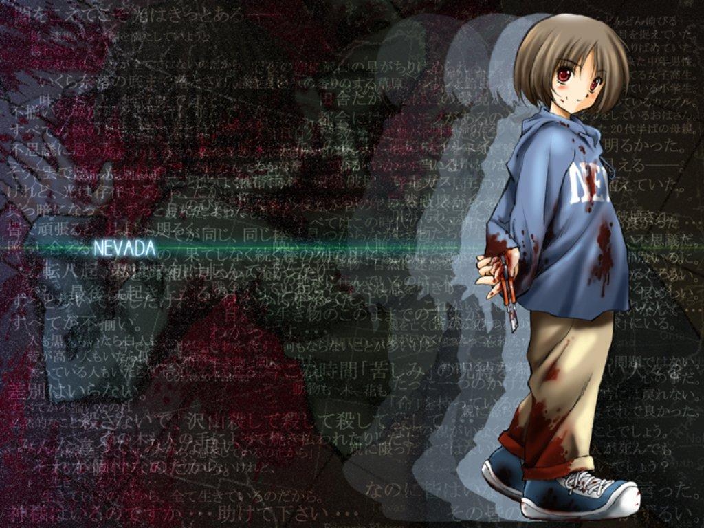 Anime Killer Girl Wallpaper Nevada Tan Yandere Zerochan Anime Image Board