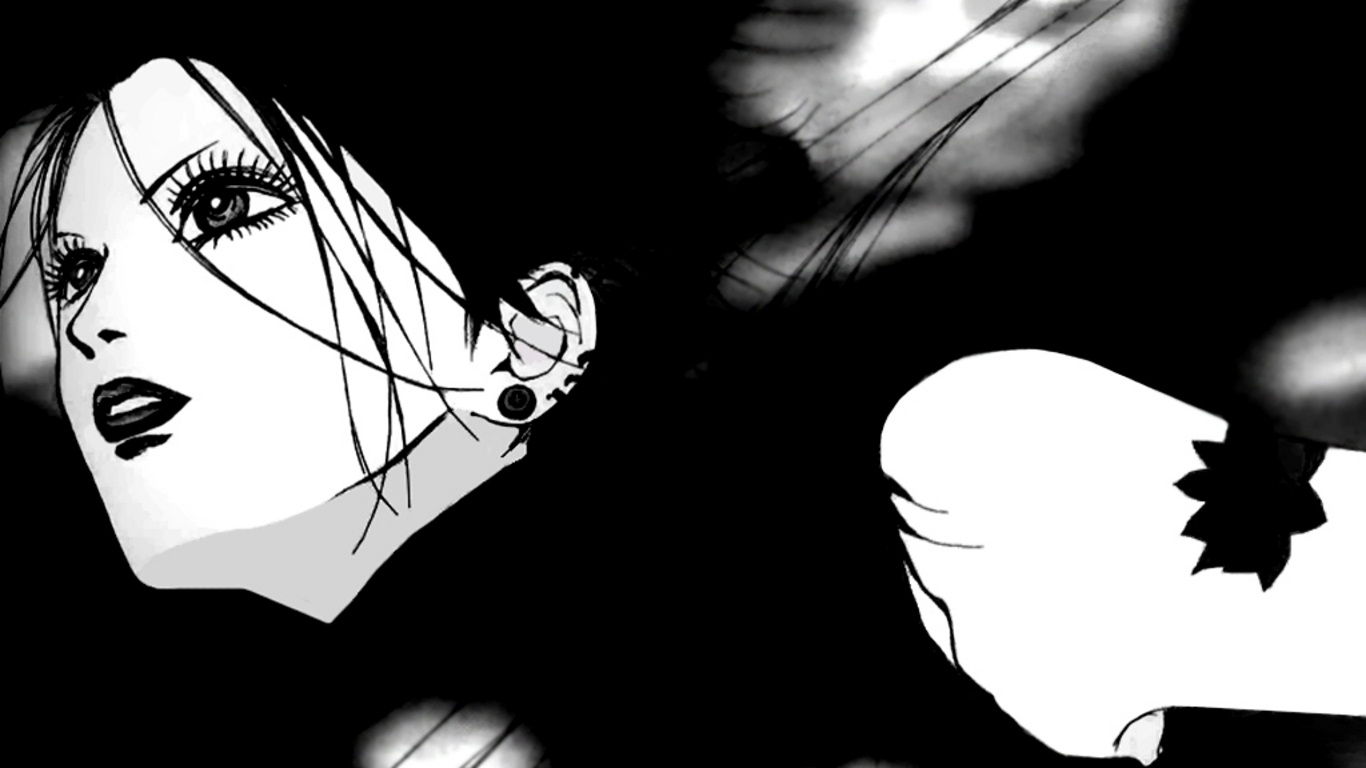 Black And White Wallpaper Pictures Osaki Nana Nana Series Image 278395 Zerochan