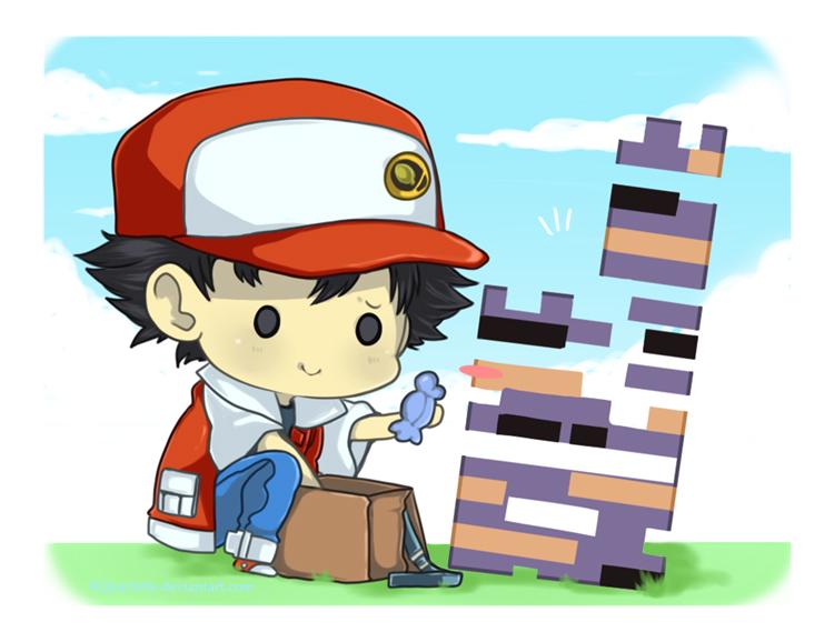 Creepy Cute Iphone Wallpaper Missingno Pok 233 Mon Zerochan Anime Image Board