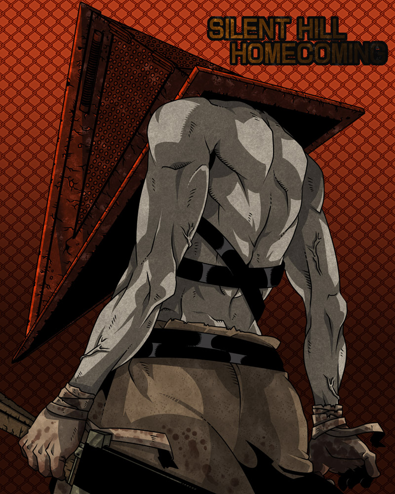 Skyrim Iphone X Wallpaper Pyramid Head Silent Hill Zerochan Anime Image Board