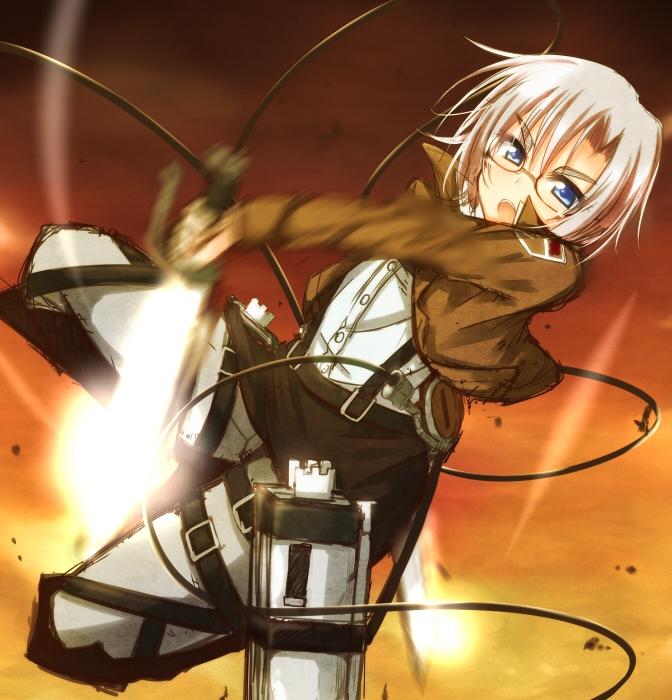 Badass Anime Girl Wallpaper Rico Brzenska Attack On Titan Page 2 Of 4 Zerochan