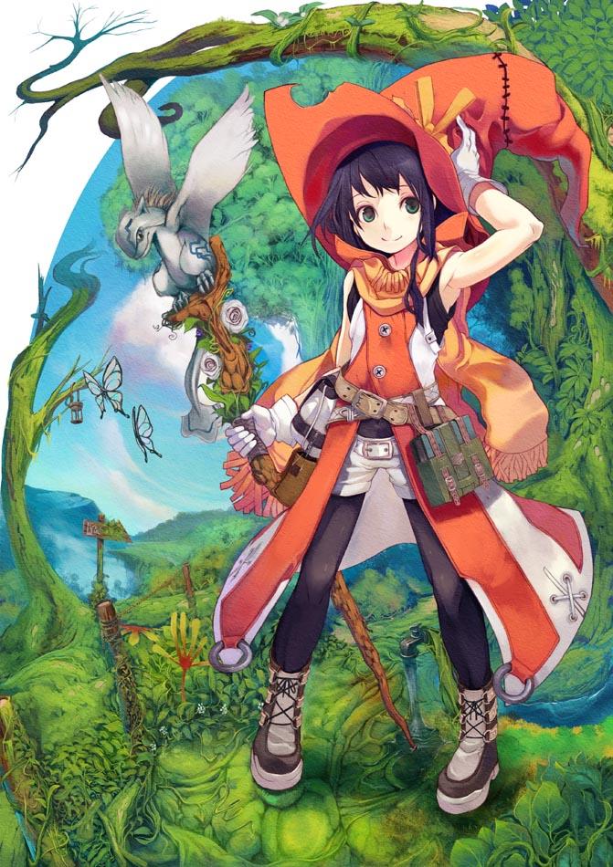 Girl Forest Wallpaper Saitou Takeo 813610 Zerochan