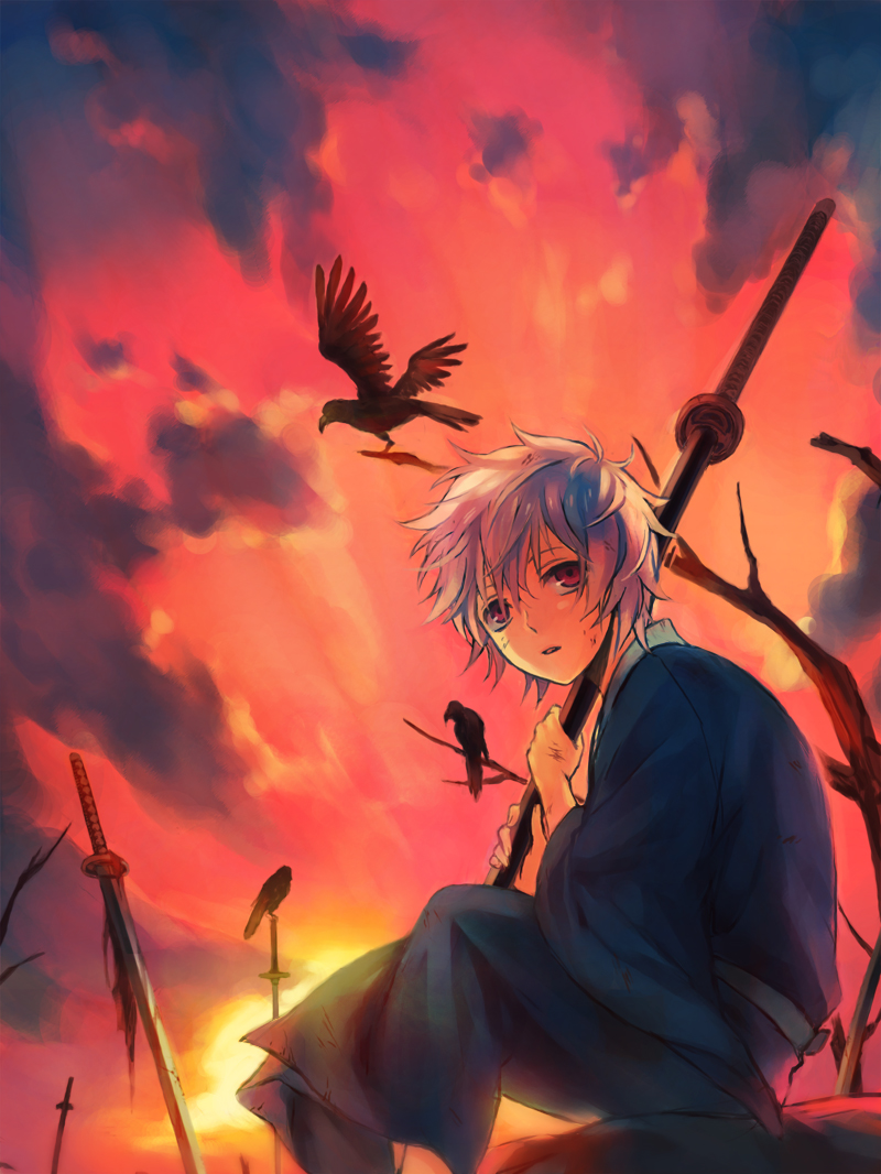Red Anime Girl Wallpaper Sakata Gintoki Gintoki Sakata Gintama Zerochan Anime