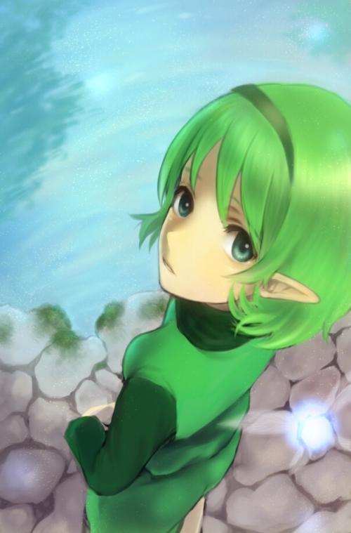 Anime Manga Wallpaper Saria Zelda No Densetsu Toki No Ocarina Mobile