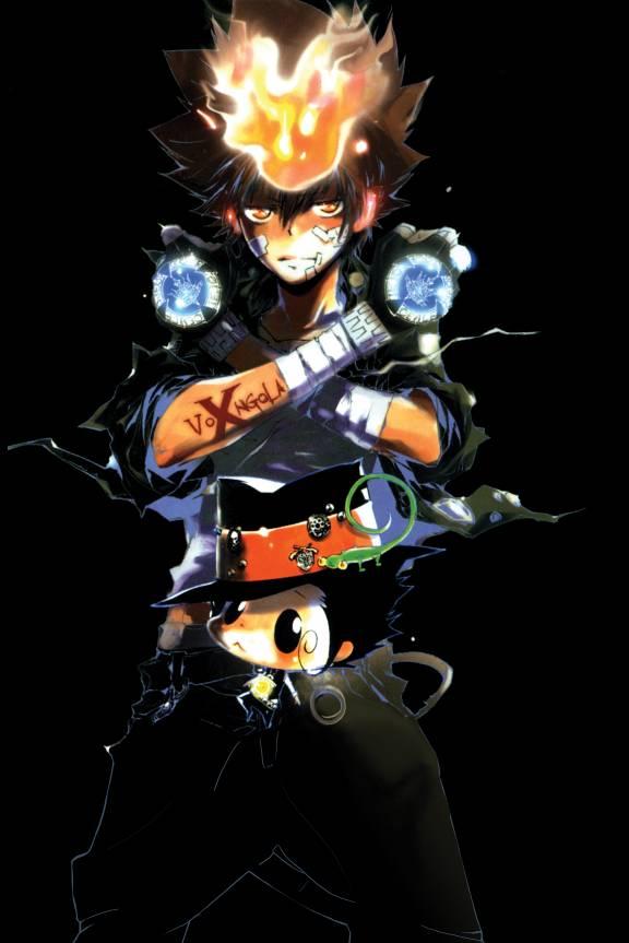 Anime Video Wallpaper Sawada Tsunayoshi Katekyo Hitman Reborn Mobile