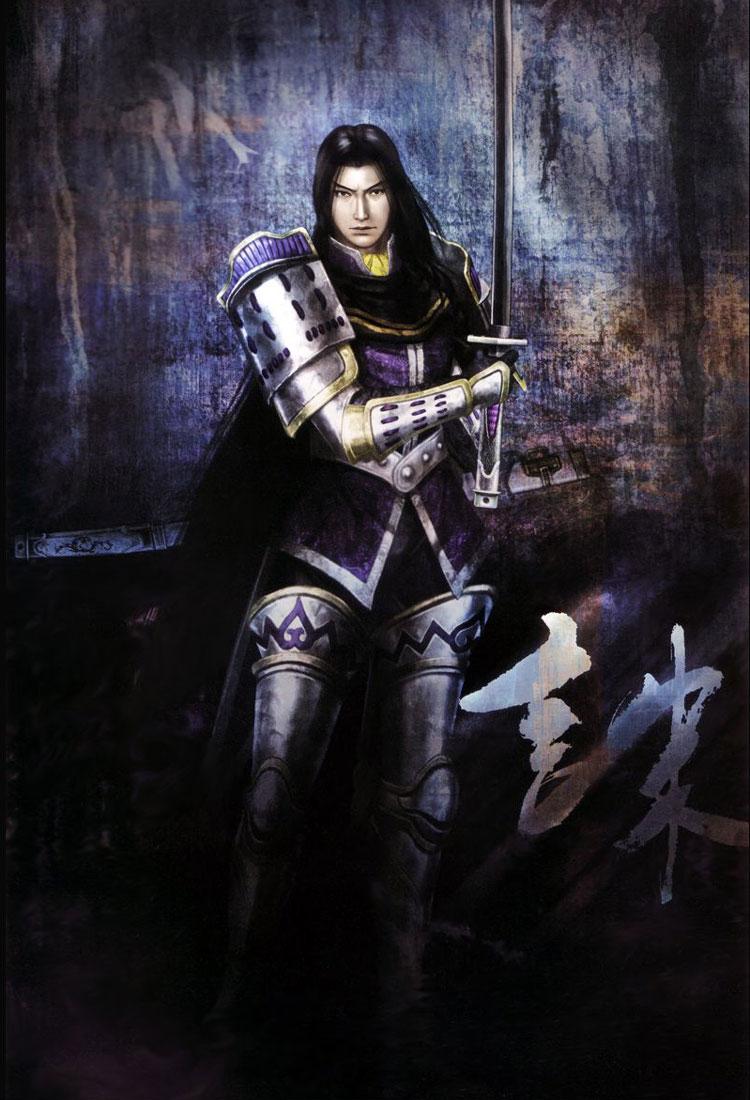 Samurai Wallpaper Iphone 6 Akechi Mitsuhide Sengoku Musou Zerochan Anime Image Board