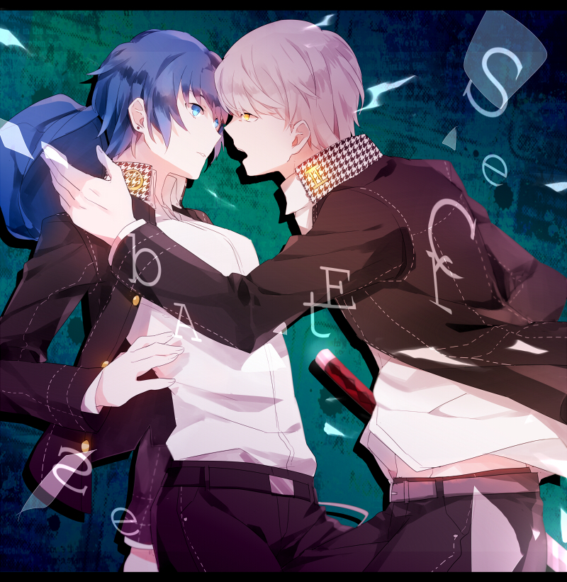 Persona 4 The Animation Wallpaper Narukami Yu Shirogane Naoto Page 7 Zerochan Anime