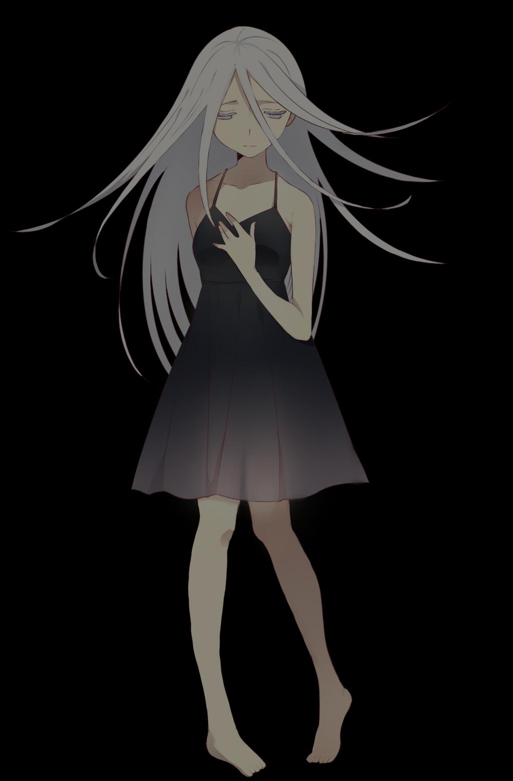 Wallpaper Dark Anime Shiro Deadman Wonderland Mobile Wallpaper 1073465