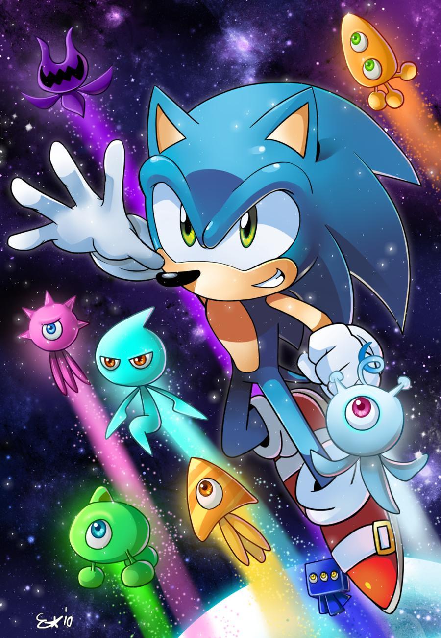 Doctor Who 3d Wallpaper Sonic Colours Zerochan Anime Image Board