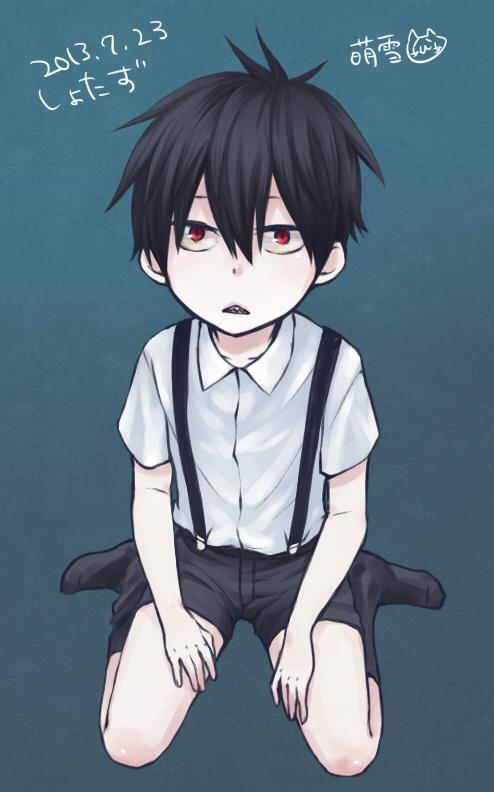 Scary Little Girl Wallpaper Staz Blood Lad Zerochan Anime Image Board