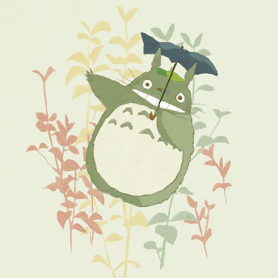 Cute Totoro Wallpaper Totoro Tonari No Totoro Image 768974 Zerochan Anime