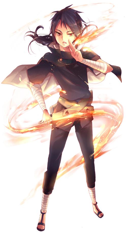 Wallpaper Anime Sword Uchiha Izuna Fanart Page 2 Zerochan Anime Image Board