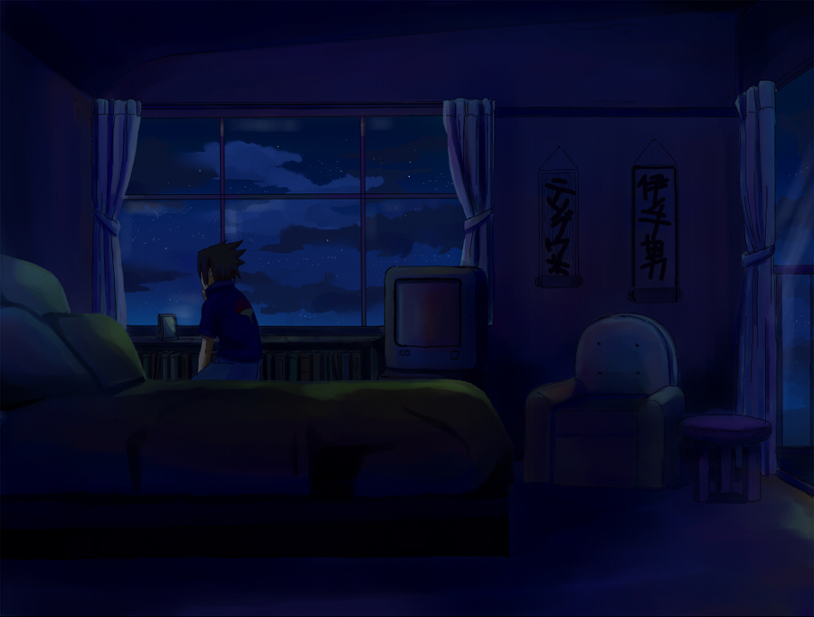 Animated Lonely Girl Wallpapers Uchiha Sasuke Naruto Image 307414 Zerochan Anime