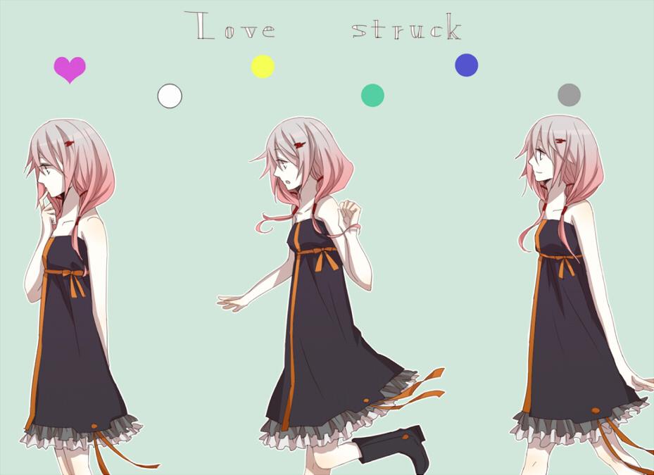 Black Wallpaper Girl Yuzuriha Inori 1361493 Zerochan