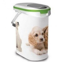 Dry Dog Food Holder - Dry food dosing cups and containers