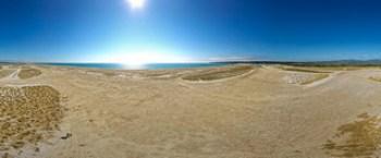La Franqui - chars à voile sur la lagune