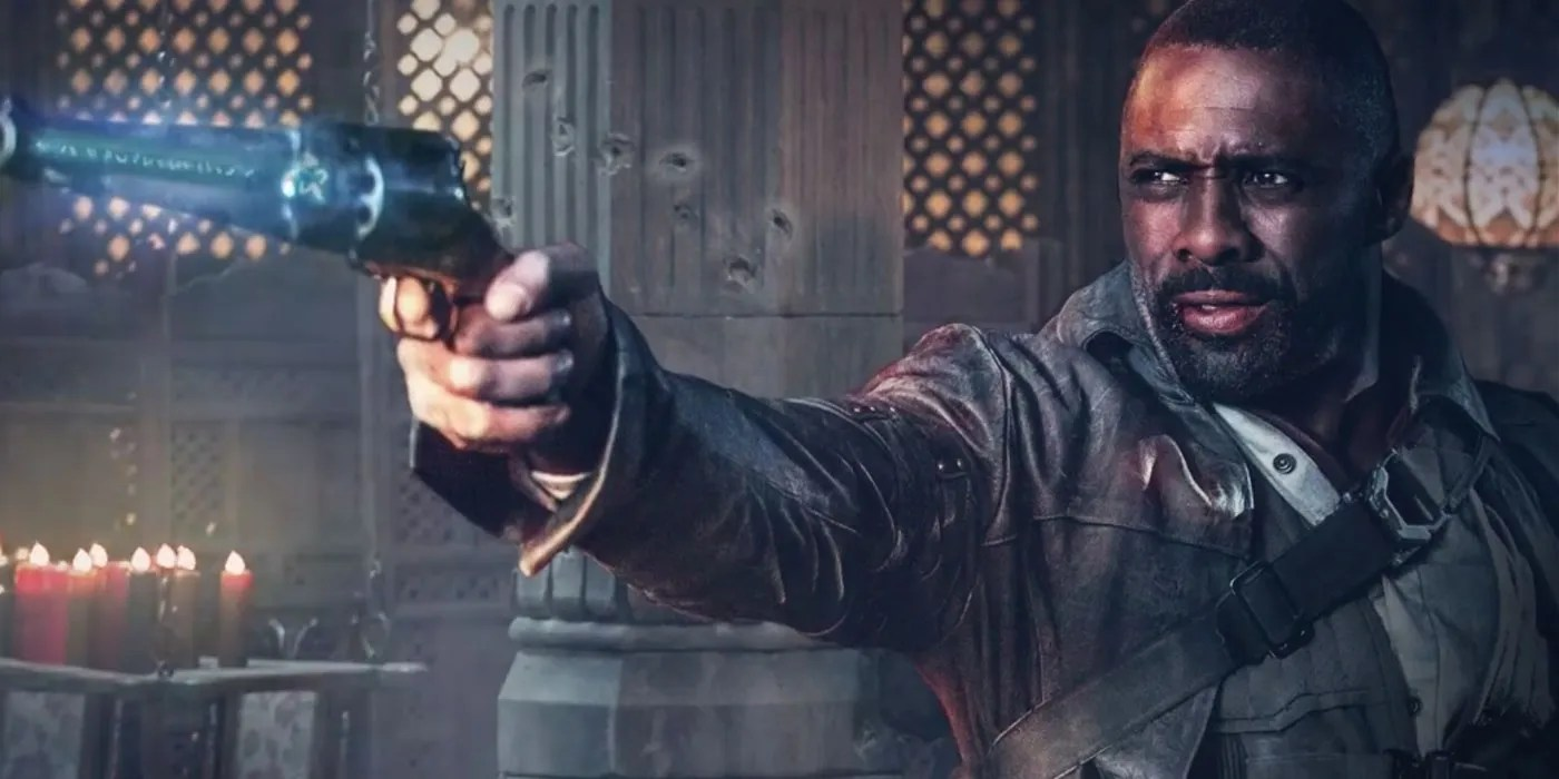 Idris Elba Films Dark Tower Scenes With Tom Taylor As Jake Review Stephen King S Dark Tower Cbr