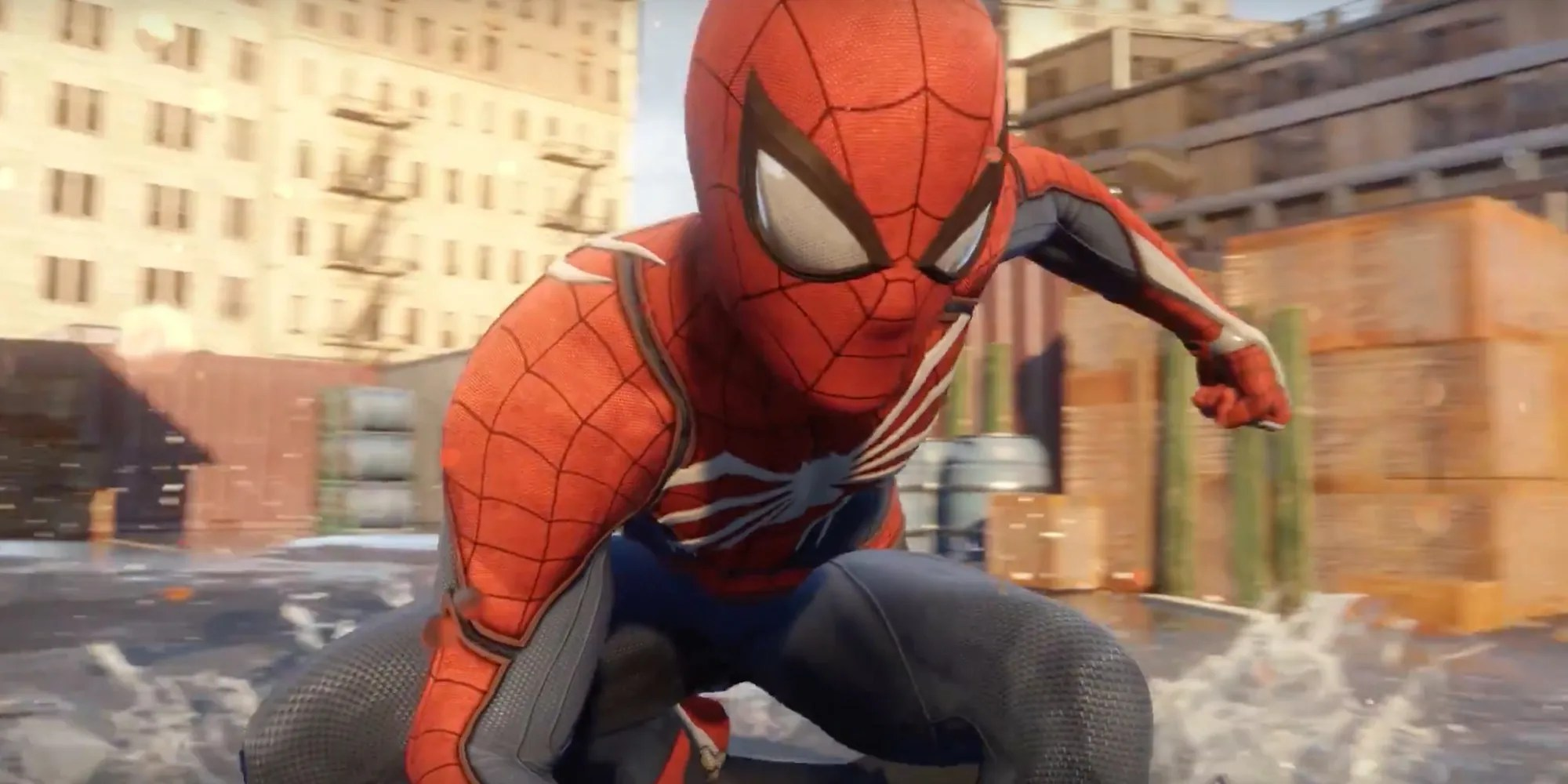 Spiderman Games Spider Man Ps4 Game Trailer Peter Parker Meets Insomniac