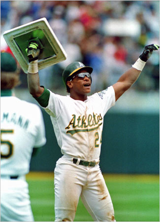 For Rickey Henderson, the Hall of Fame Is on Line 1 - The New York Times