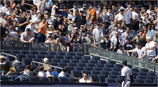 Is This Seat Taken? In Front Rows of New Ballparks, Not Yet - The