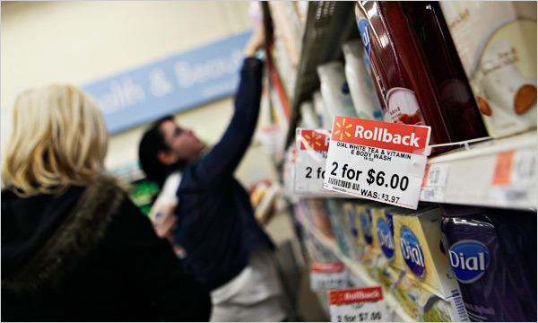 The Recession, Wal-Mart Style - The New York Times