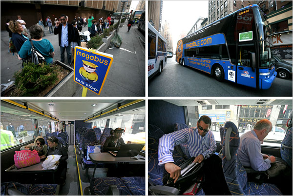Table Manhattan Fly Younger Travelers Shun Rails And Runways For The Bus - The