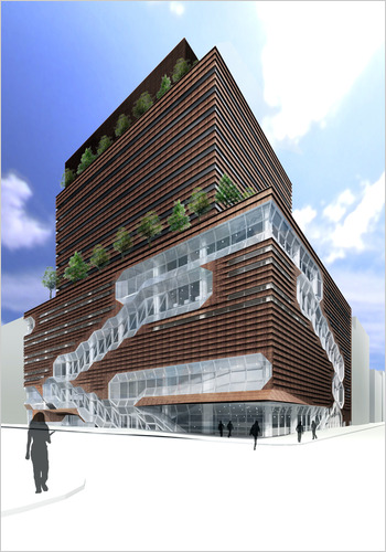Set One Couchtisch York New School To Build 16-story University Center - The New ...