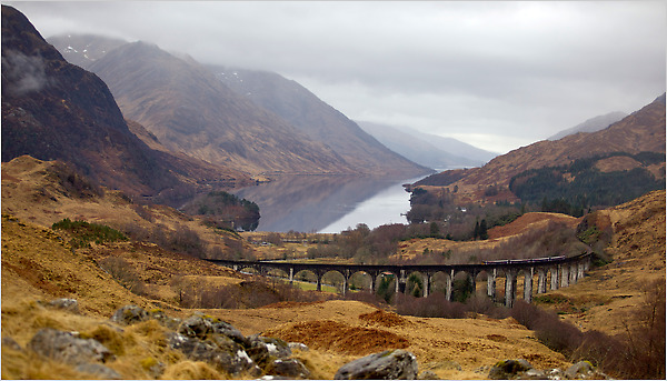 Harry Potter Fall Wallpaper The Highlands By Rail With 1910 Baedeker In Hand The