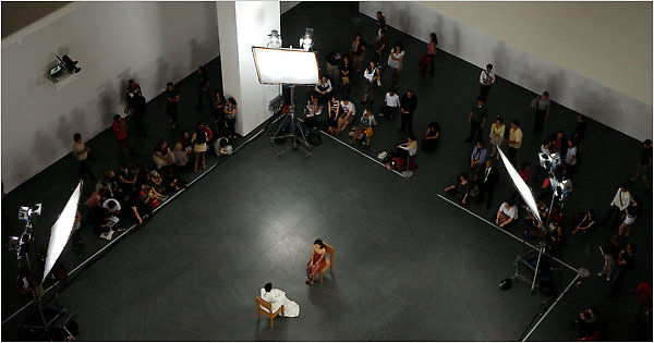 New York Moma Marina Abramovic's Silent Sitting At Moma Reaches Finale