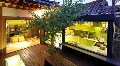 In Seoul, a Traditional House Adopts Modern Style - The New York Times