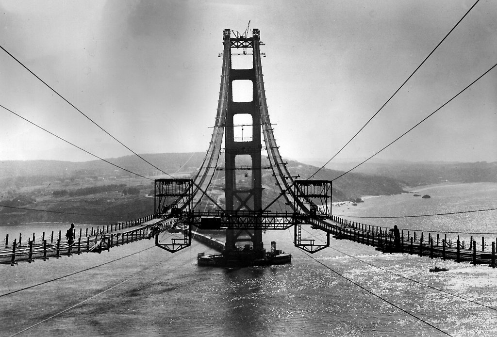 Golden Gate\u0027 by Kevin Starr Tells How a Symbol Was Built - The New