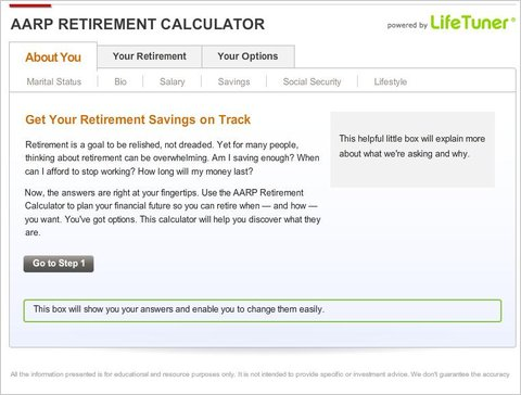 AARP Provides New Calculator for Figuring Retirement Savings - The