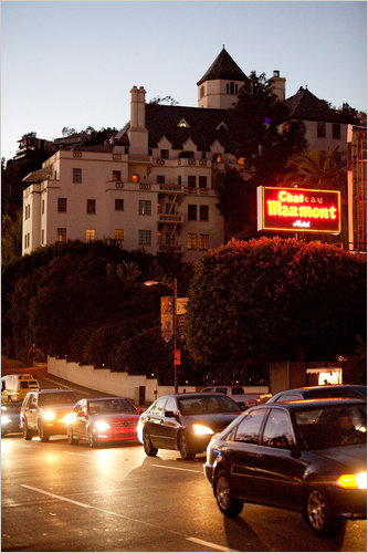 Just Do It Later Chateau Marmont Is Ready For Its Close-up - The New York Times