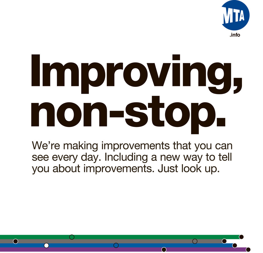 Placard Crossword Literary Quotations On Subway Trains Come To An End The New York