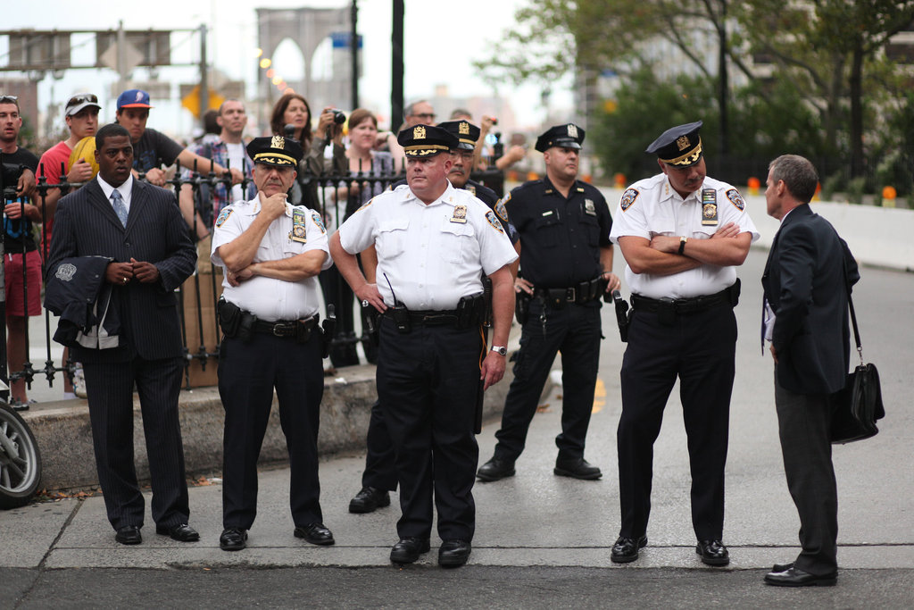 NYPD\u0027s \u0027White Shirts\u0027 Take On Enforcer Role - The New York Times