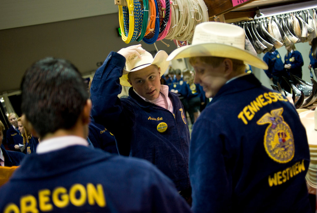 FFA Prospers by Expanding Its Scope - The New York Times - new farmers of america