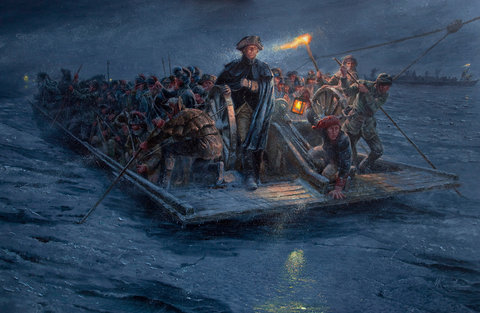 Crossing the Delaware, More Accurately - The New York Times