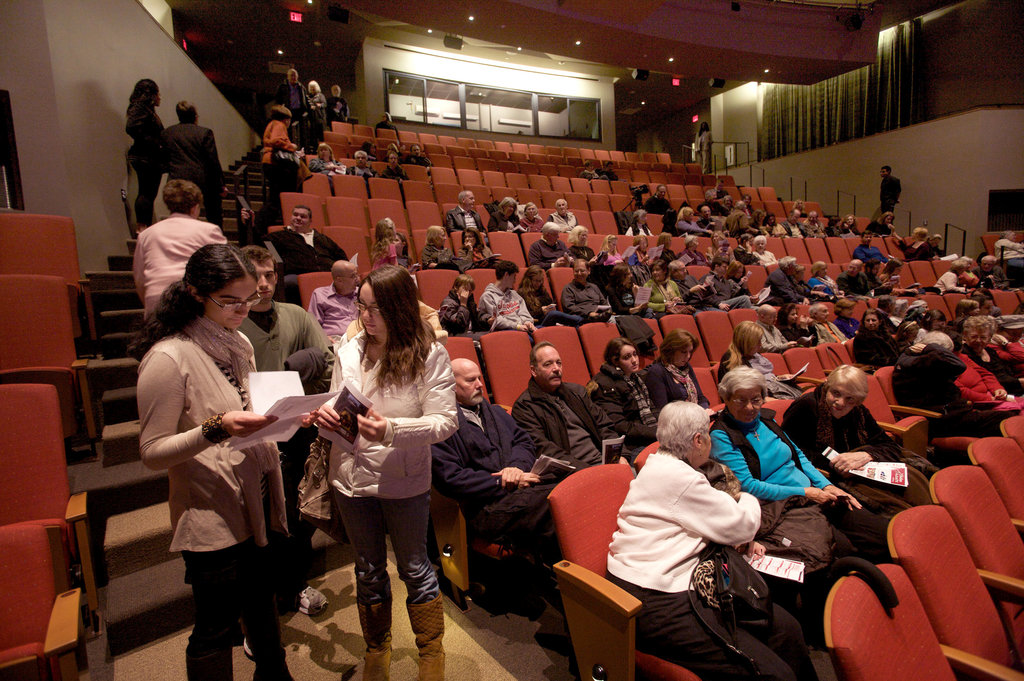 At the New Madison Theater in Rockville Center, Ambitious Beginnings