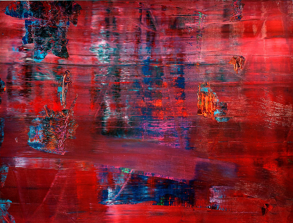 Abstrakte Bilder Gerhard Richter Israel Museum Receiving A Work By Gerhard Richter The New