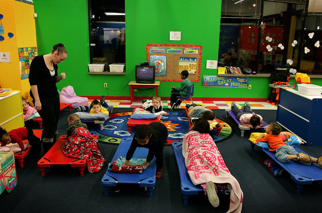 Day Care Centers Adapt to Round-the-Clock Demands - The New York Times