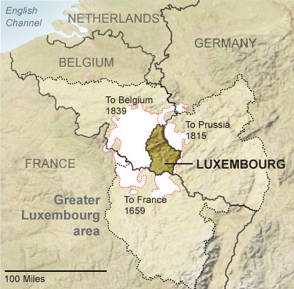 Who\u0027s Afraid of Greater Luxembourg? - The New York Times