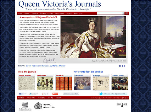 Queen Victoria\u0027s Complete Diaries Released Online - The New York Times