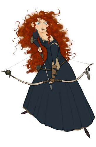 Once Upon A Time Wallpaper Iphone Pixar S Brave How The Character Merida Was Developed