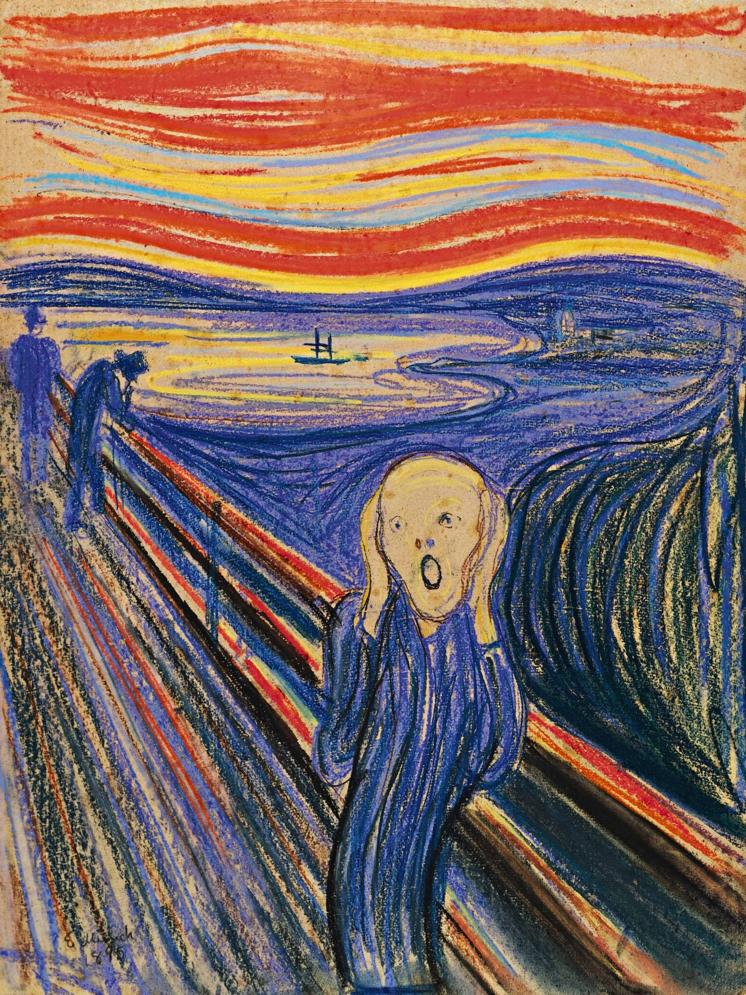 Moma Museum Munch's 'scream' To Hang For Six Months At Moma - The New