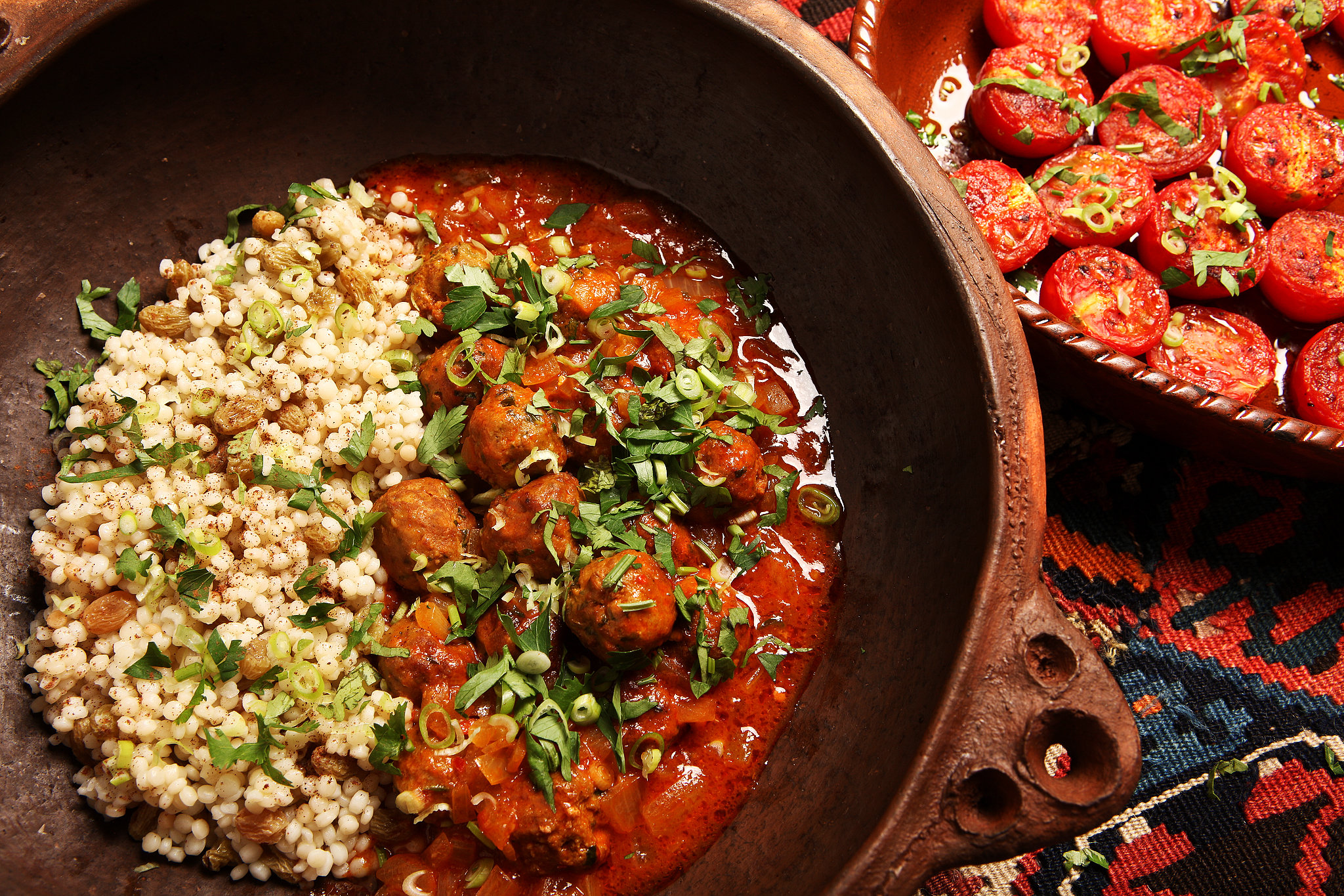 Cuisine Food In North African Meatballs Recipe Nyt Cooking
