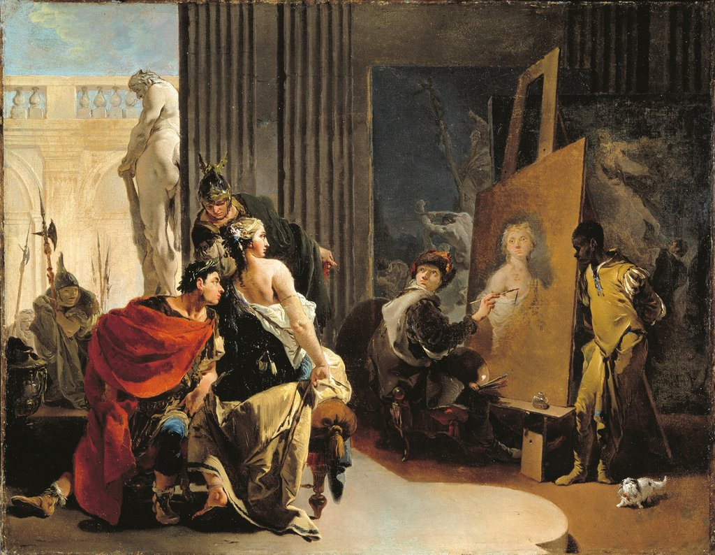 La Verdad En Pintura Tiepolo And The Art Of Perfection The New York Times