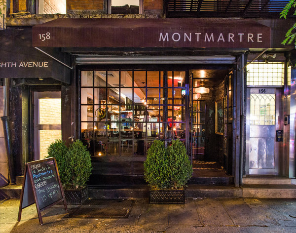 Cat Wallpaper 3d Restaurant Review Montmartre In Chelsea Nytimes Com