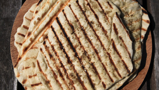 Grilled Lebanese Flatbread Recipe - NYT Cooking